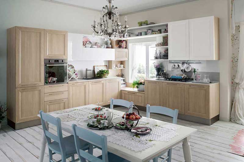 It.luvern.com  Cucina Moderna Bianca Con Parquet Interior Design