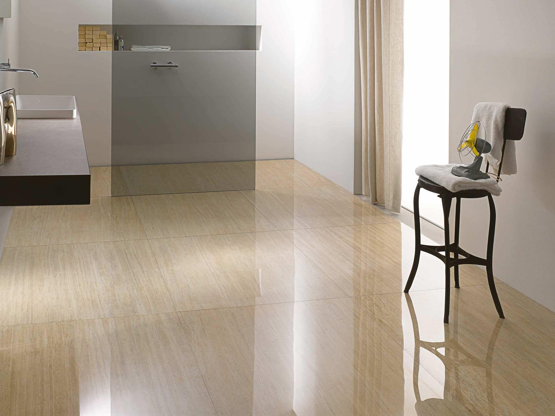 L 39 effetto marmo classico e senza tempo di cotto d 39 este - Piastrelle design moderno ...