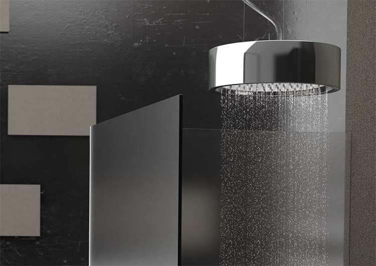 Soffioni doccia la piogga nella sua forma migliore orsolini - Migliore rubinetteria per bagno ...