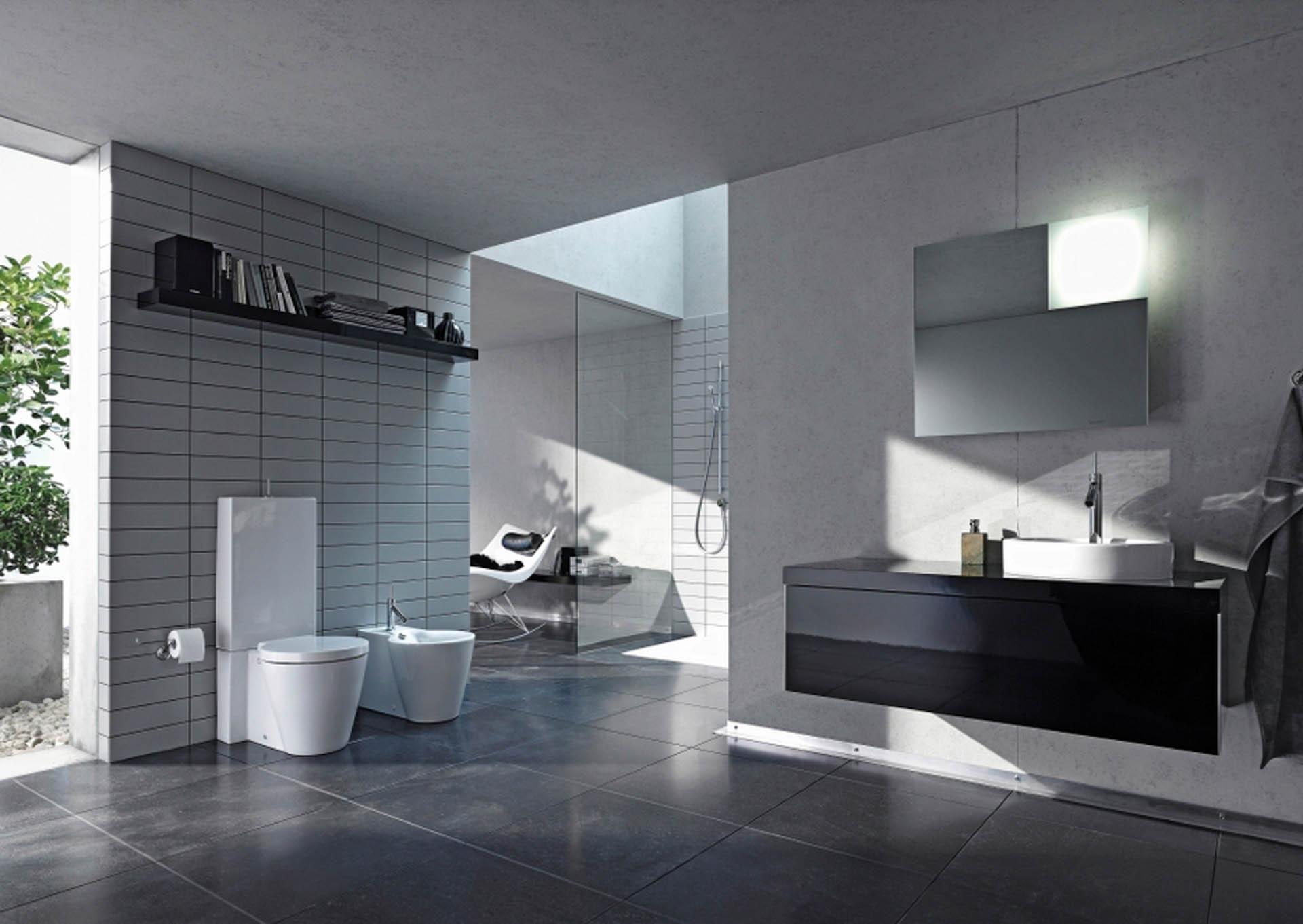 duravit starck1 orsolini. Black Bedroom Furniture Sets. Home Design Ideas