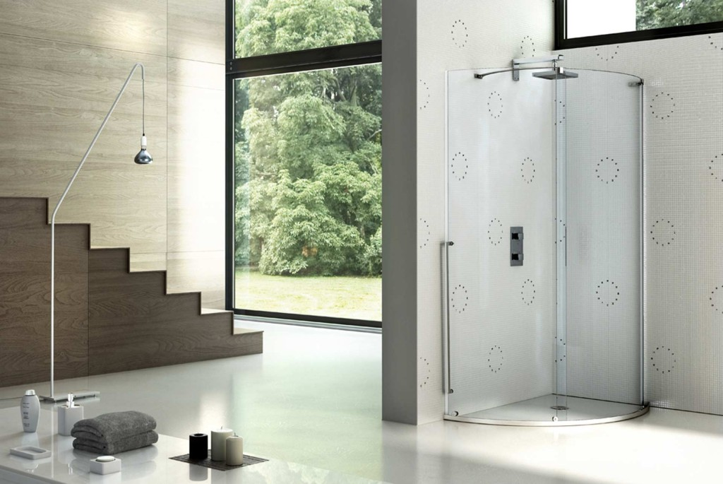 Box doccia di grandi dimensioni design funzionalit e - Costruire box doccia ...