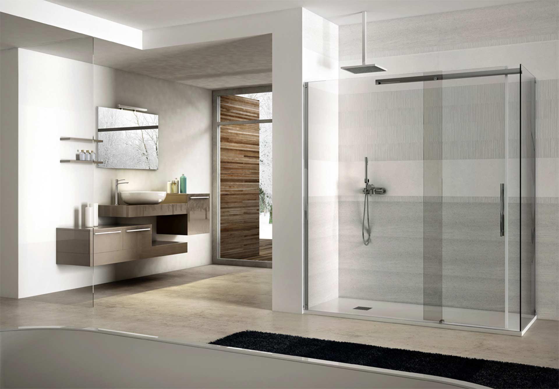 box doccia tda, l'arte di vestire l'acqua - orsolini - Bagni Doccia Moderni