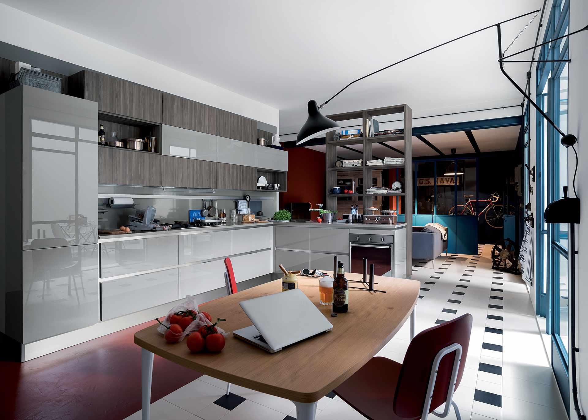 Veneta cucine dialogo orsolini - Cucine moderne italiane ...