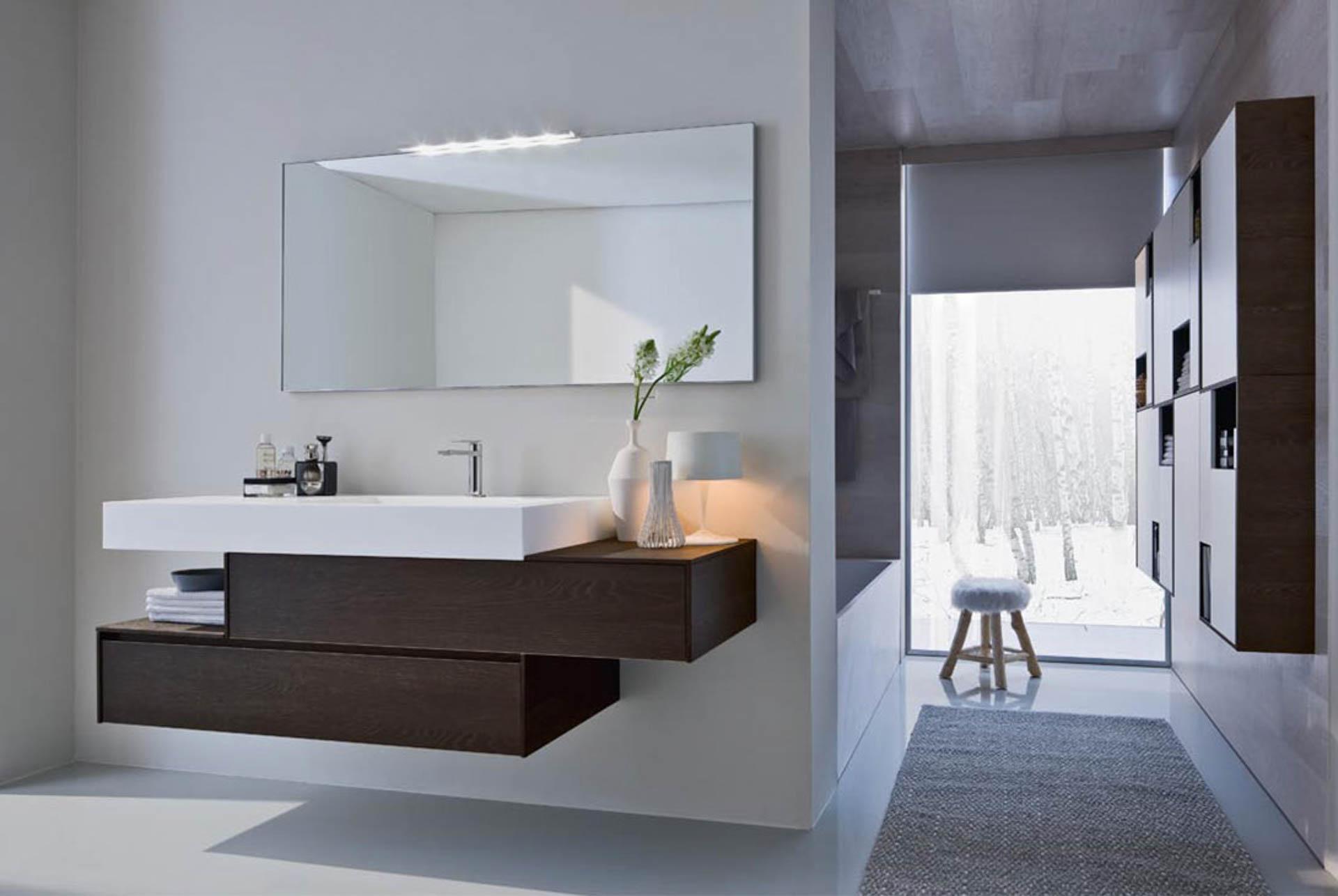 Nyu mobili bagno dall 39 eleganza senza tempo orsolini for Arredo bagnio