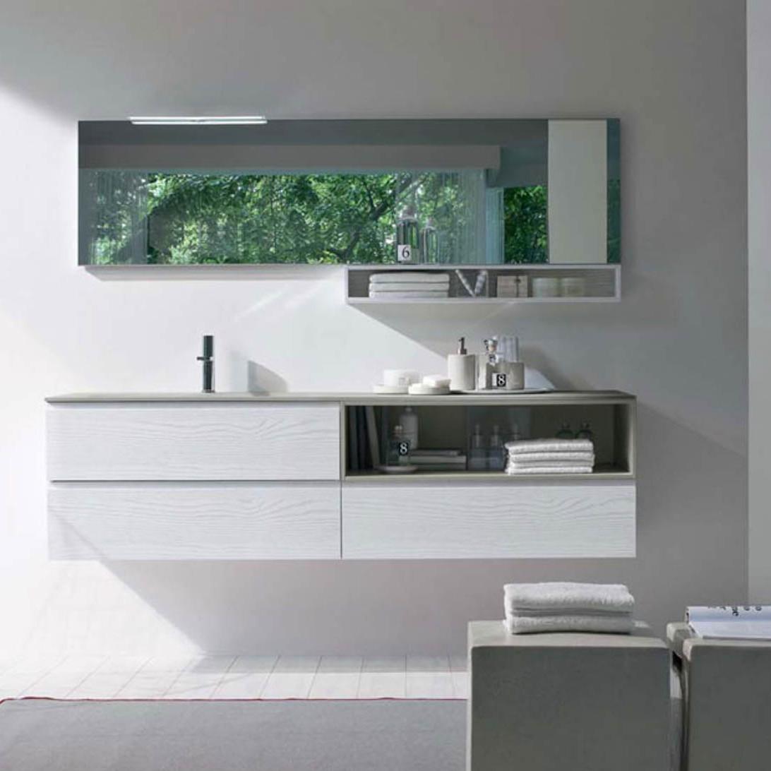 Arredo bagno: soluzioni per un bagno minimal