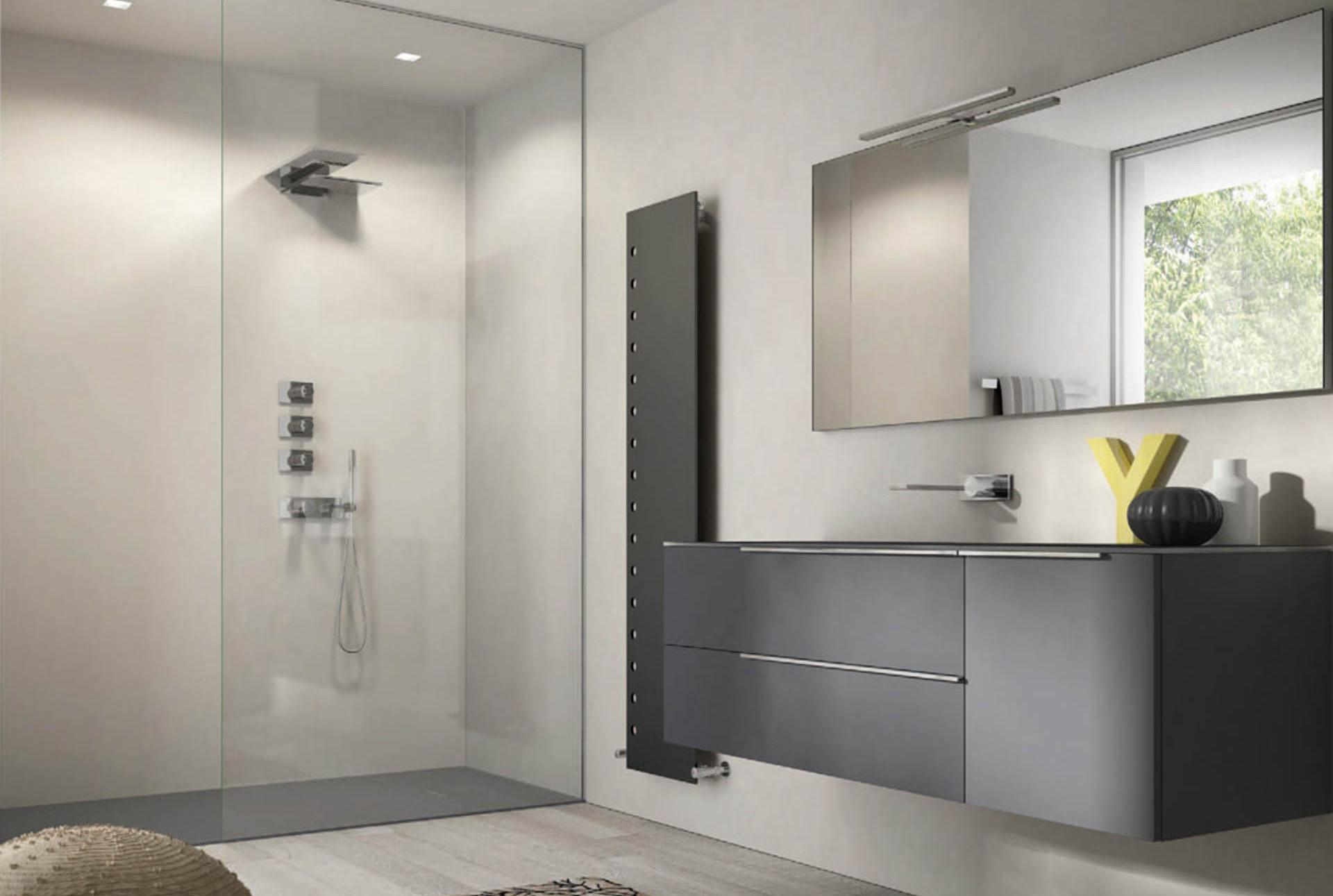 My time il mobile bagno dal design essenziale e - Idea accessori bagno ...