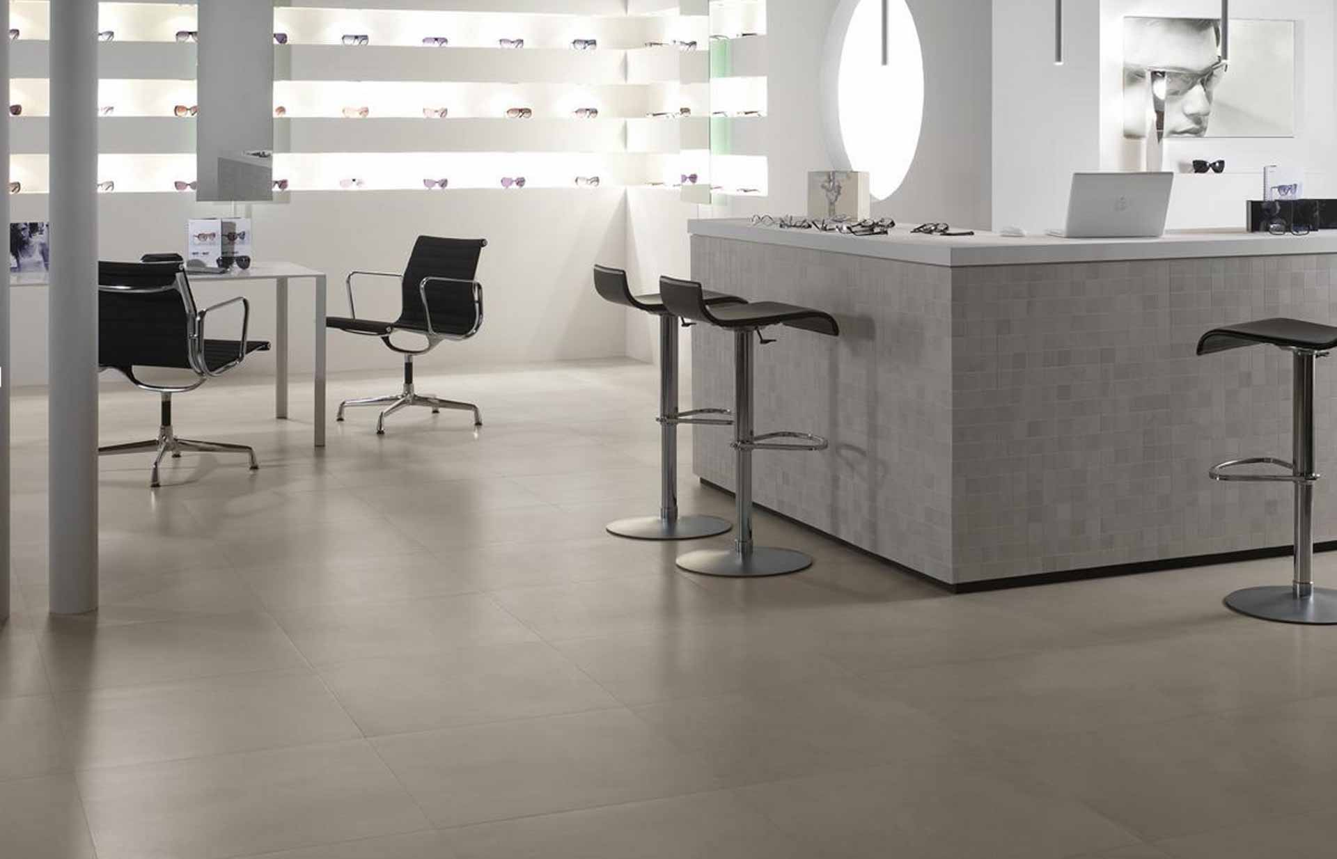 ... effetto cemento, adatto per loft e ampie metrature domestiche