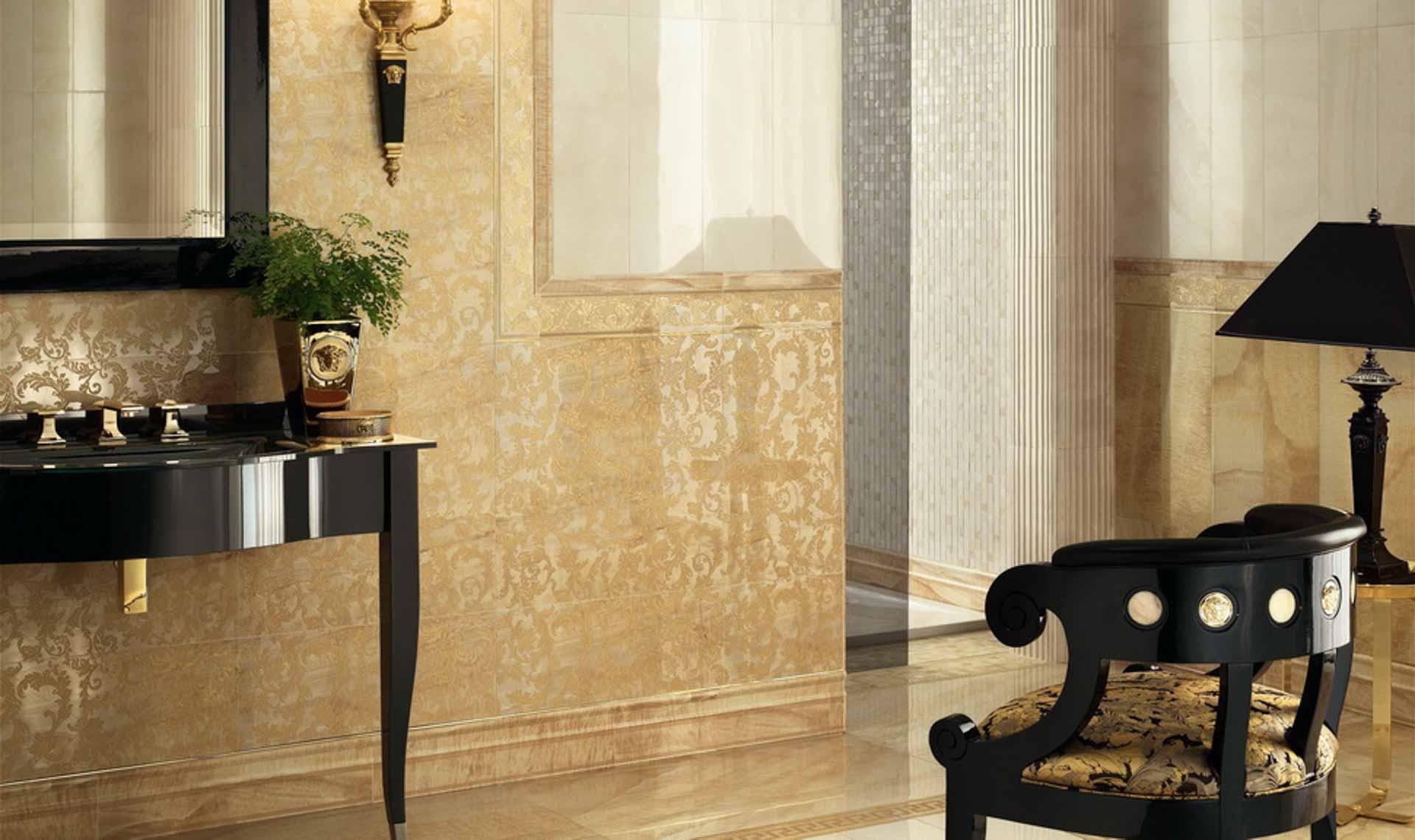 I marmi di lusso di versace ceramics orsolini