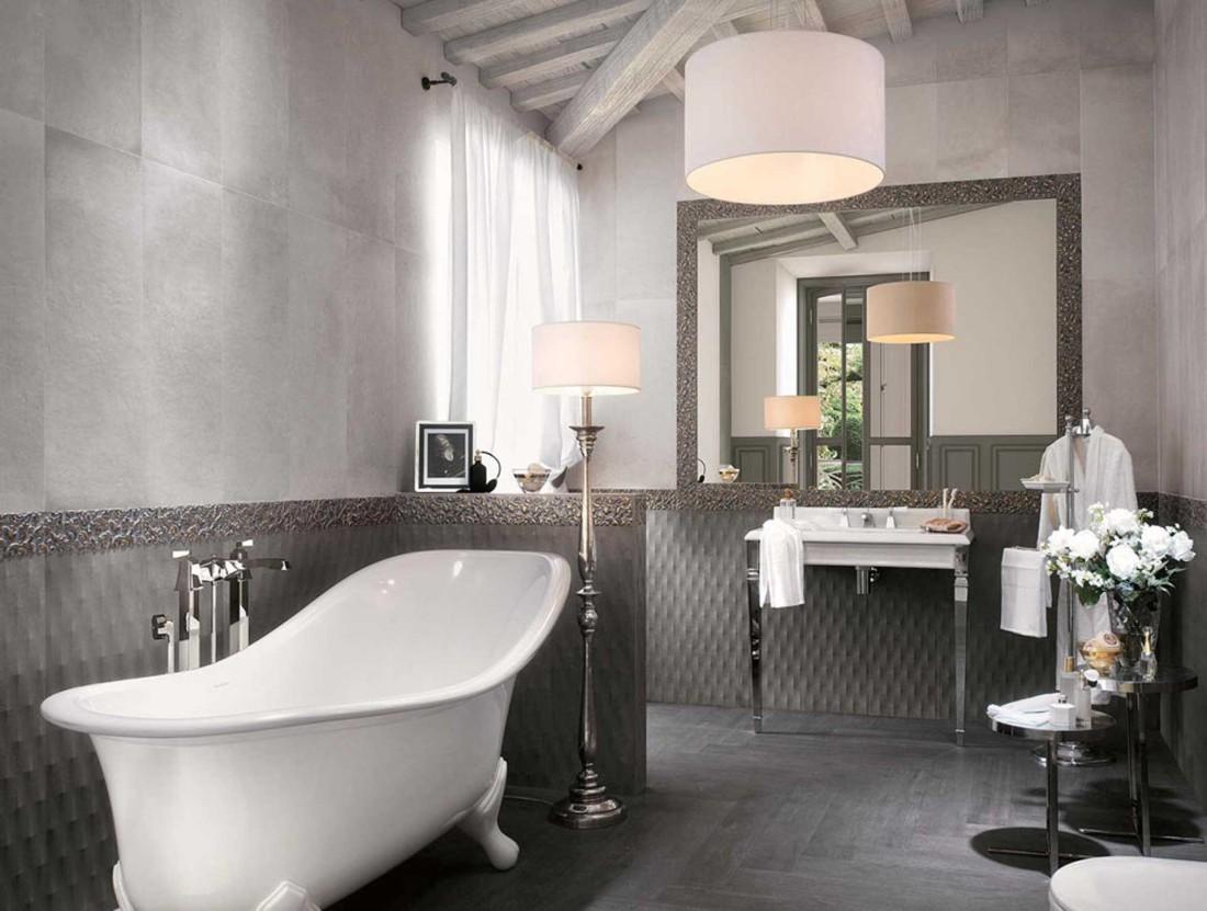 ... il rivestimento bagno tradizionale dal gusto contemporaneo - Orsolini