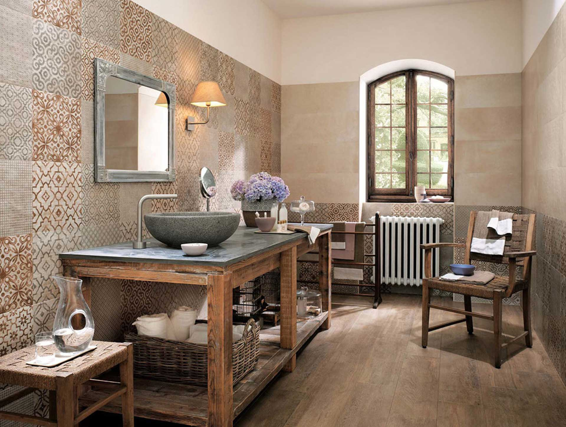 Bagno shabby chic e romantico orsolini - Accessori per cucina country ...