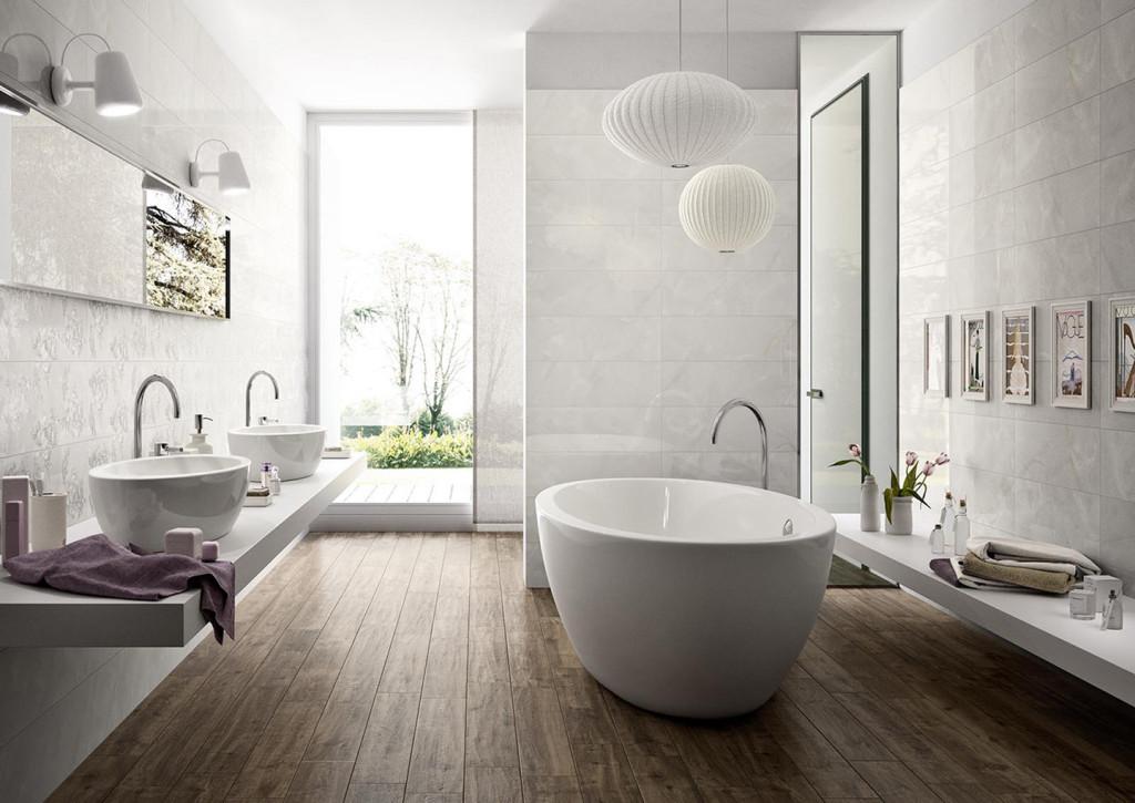 vasche da bagno al centro della stanza  orsolini, Disegni interni