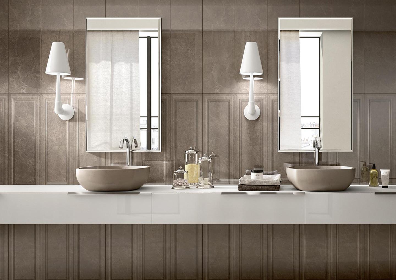 l'effetto marmo pregiato ed elegante di marazzi - orsolini - Marazzi Arredo Bagno