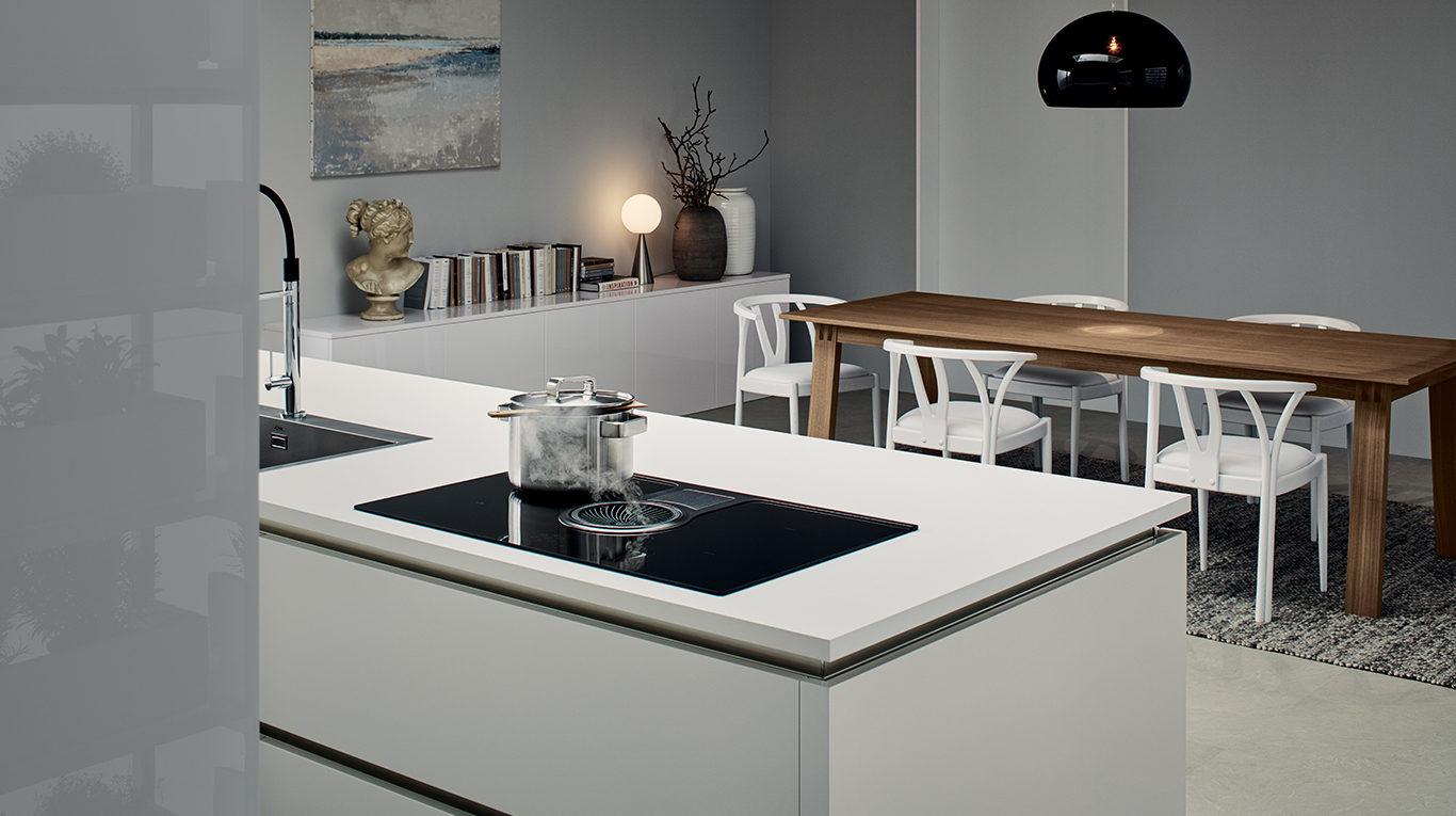 Cucina Moderna Con Piano Cottura Ad Angolo.Piano Cottura Cucina Elettrico O Induzione Quale Scegliere