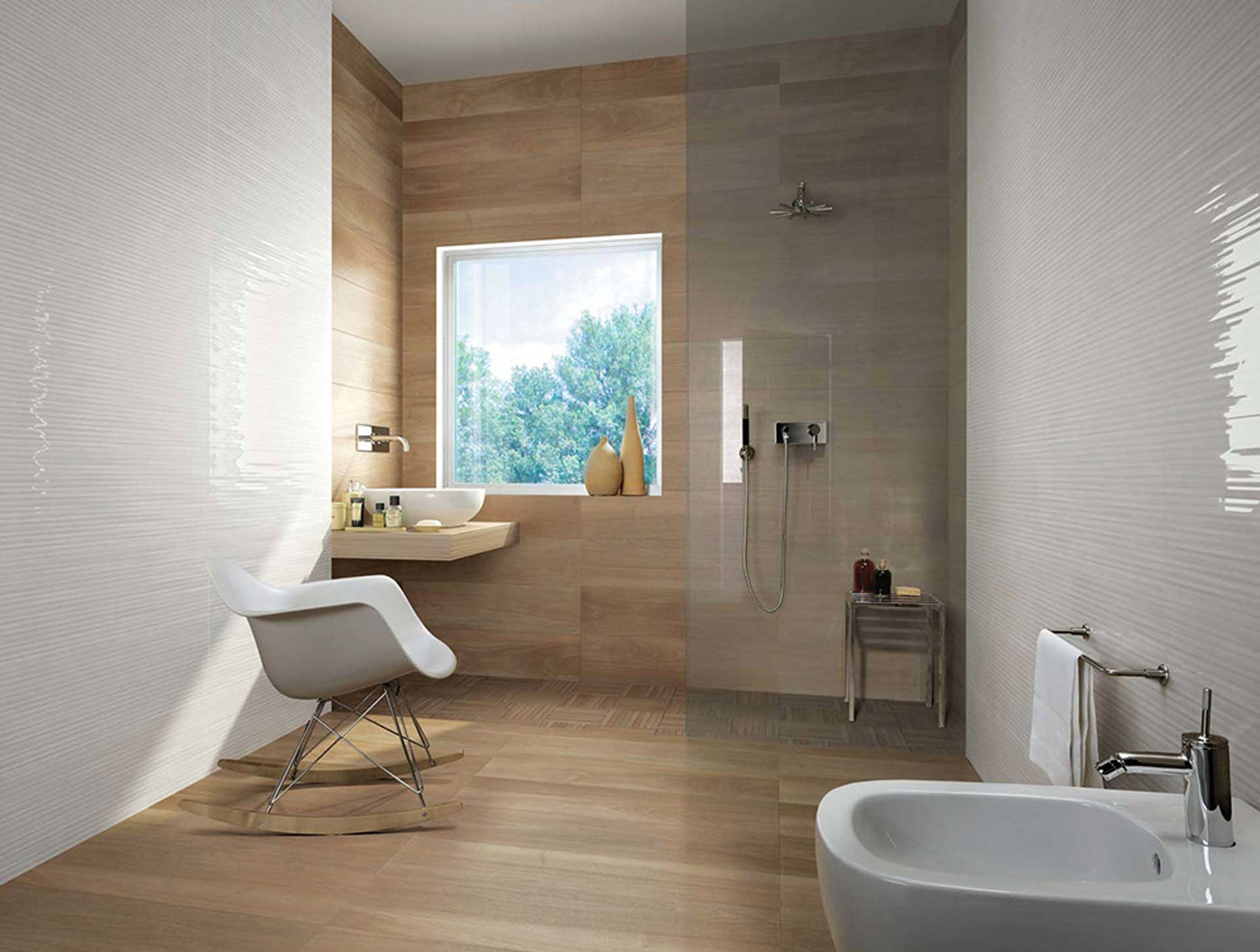 Il rivestimento bagno moderno di Fap Ceramiche – Orsolini