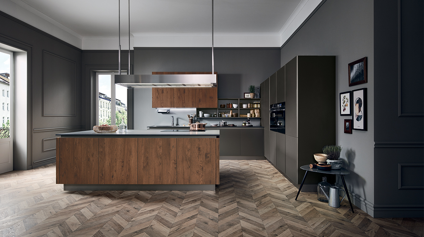 Come scegliere una cucina in base allo spazio disponibile? - Orsolini