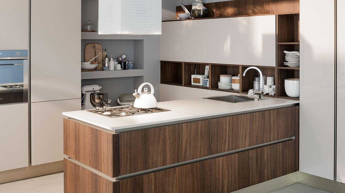 Ri flex la cucina che riflette il tuo modo di essere for Arredo3 o veneta cucine