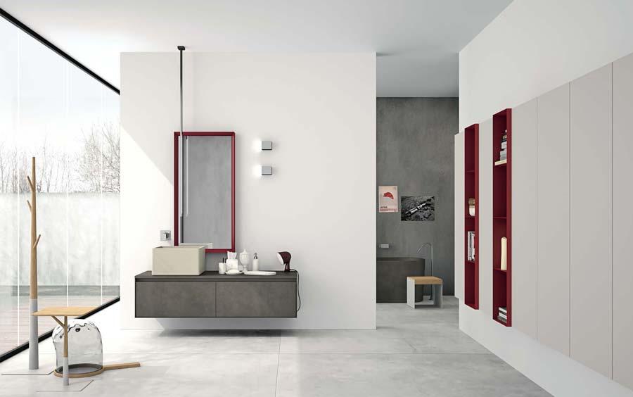Aria il mobile bagno dal design al di fuori dagli schemi - Altamarea mobili bagno ...