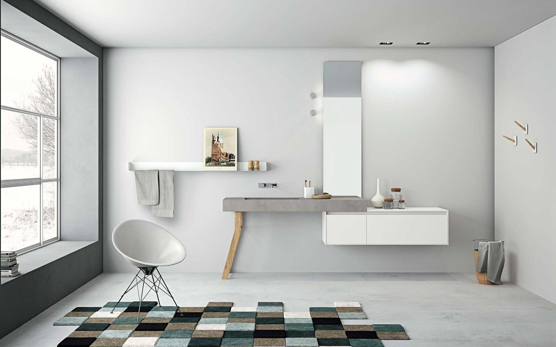 Mobili per il bagno orsolini e altamarea - Mobiletto bagno ...