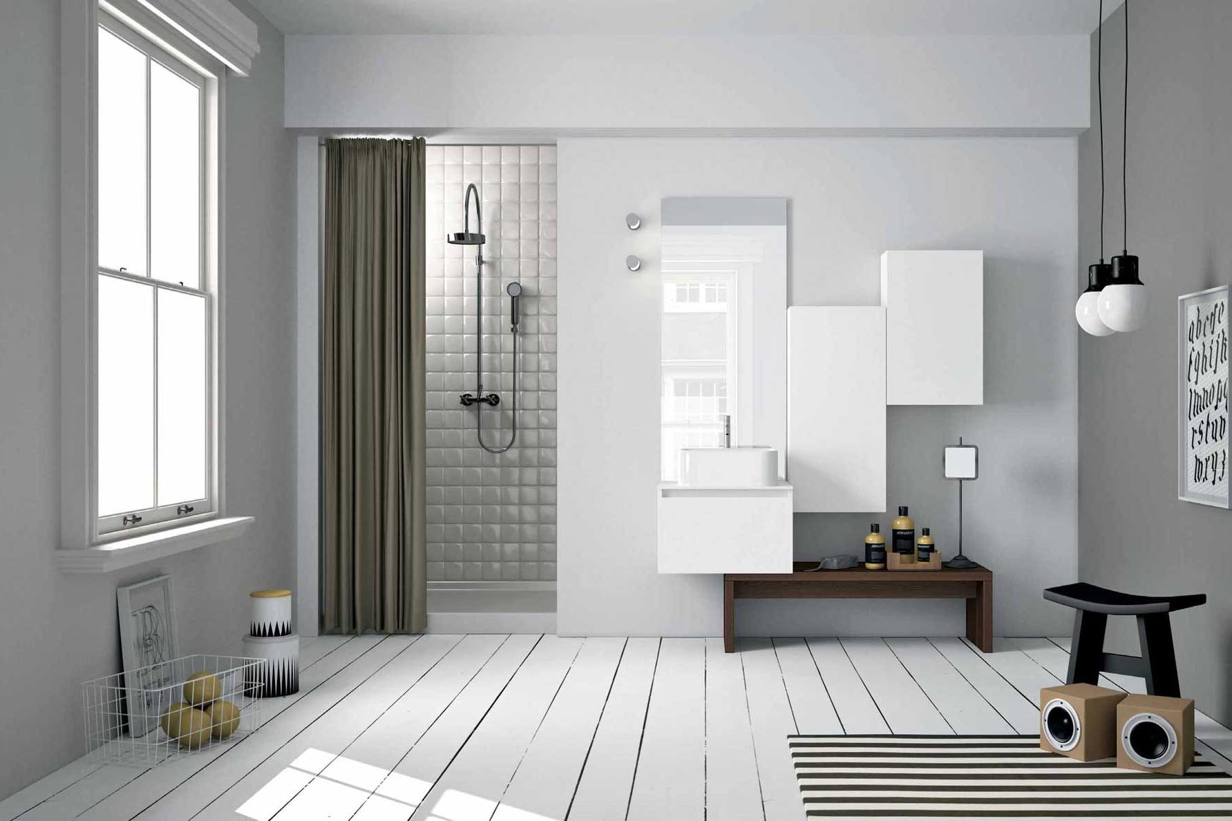 Show room dell 39 arredo bagno roma orsolini for Arredamento stile nordico moderno