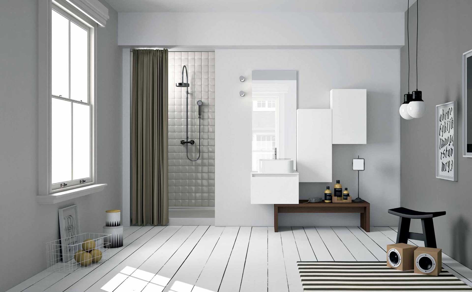 Mobili per il bagno orsolini e altamarea - Mobili stile nordico ...