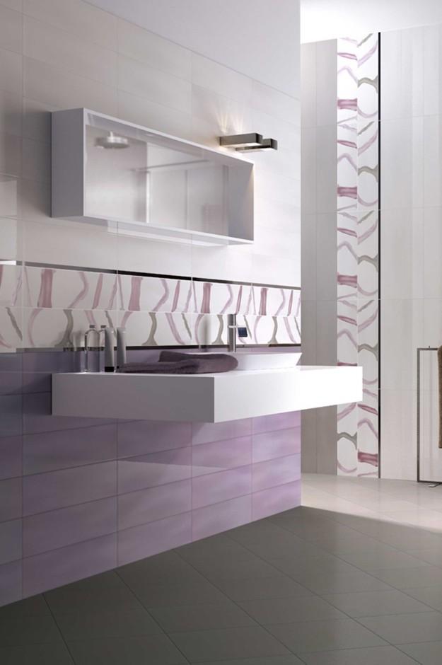 Rivestimenti bagno orsolini e collezione tentazioni di cir for Piastrelle bagno bianche lucide