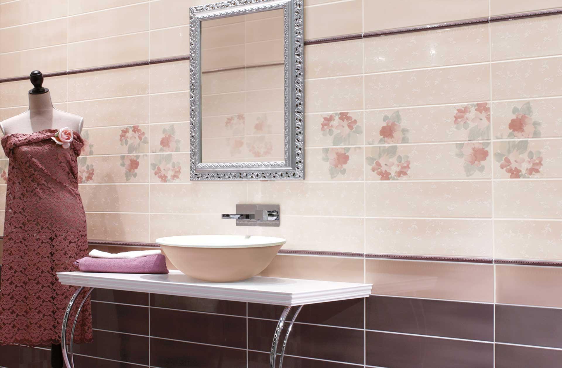Rivestimenti bagno orsolini e collezione tentazioni di cir for Ceramiche cir
