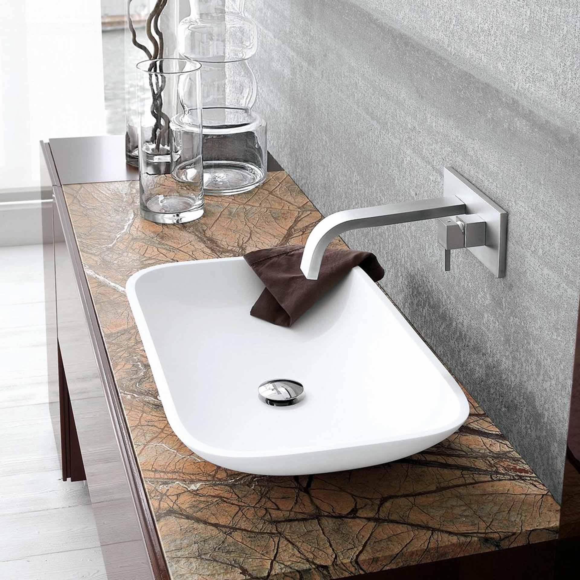 I migliori lavabi d 39 arredo come sceglierli orsolini for Rubinetti design
