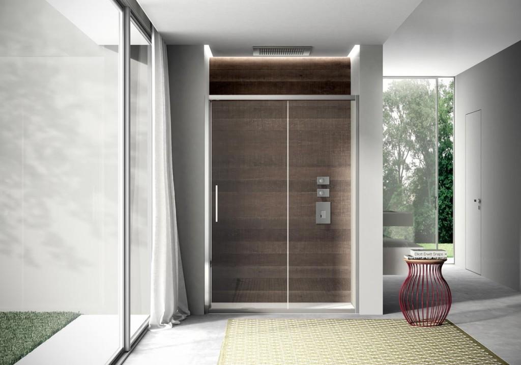Arredo bagno soluzioni per un bagno minimal orsolini - Porte per bagni ...