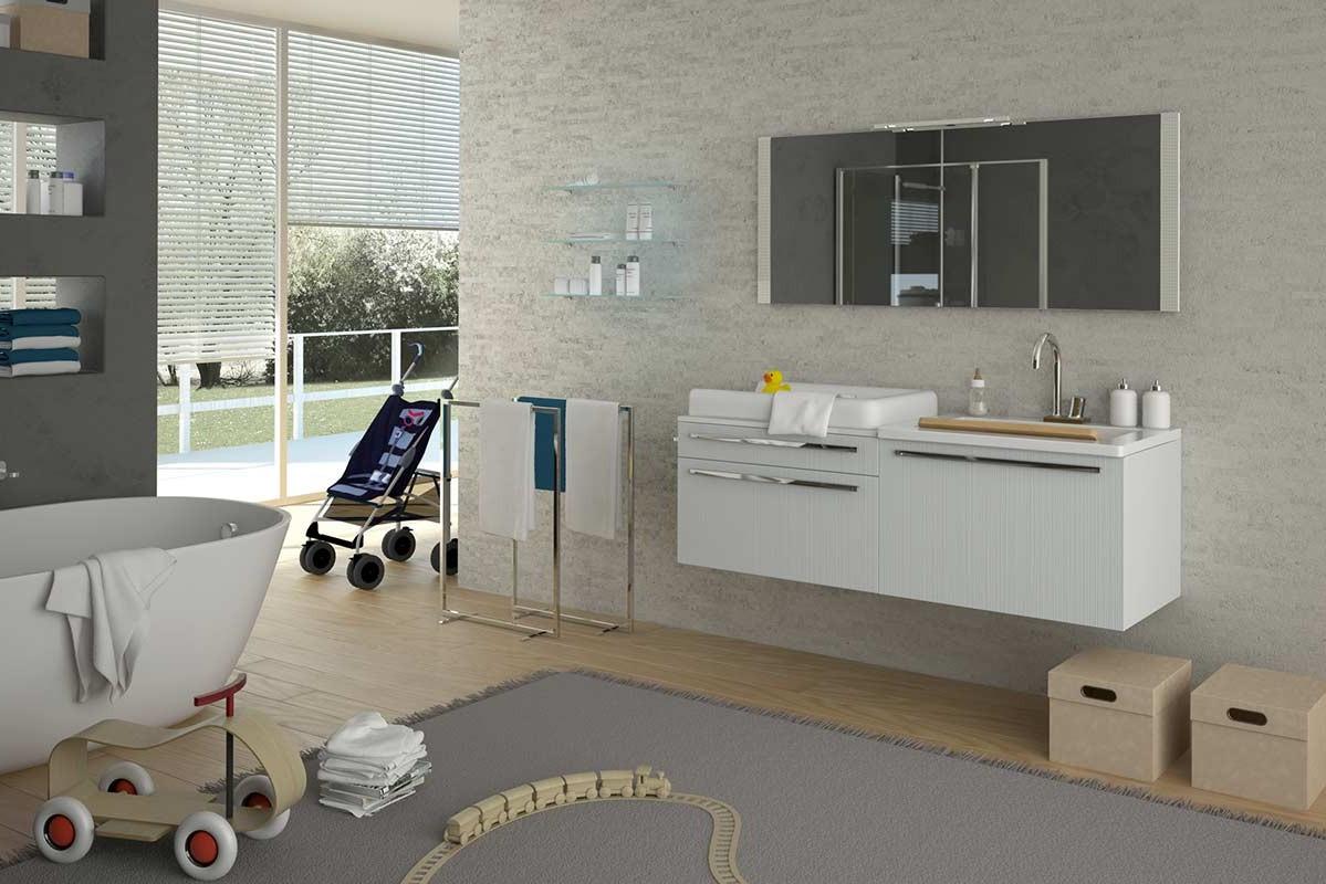 Ikea mobile lavatrice for Expo arredo bagno roma
