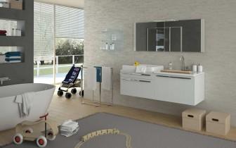 Mobili per il bagno orsolini e altamarea - Mobile fasciatoio ikea ...