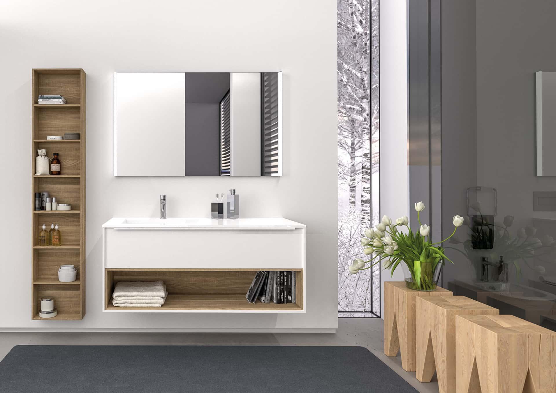 Come scegliere il mobile lavabo a terra sospeso o extra for Mobile lavabo