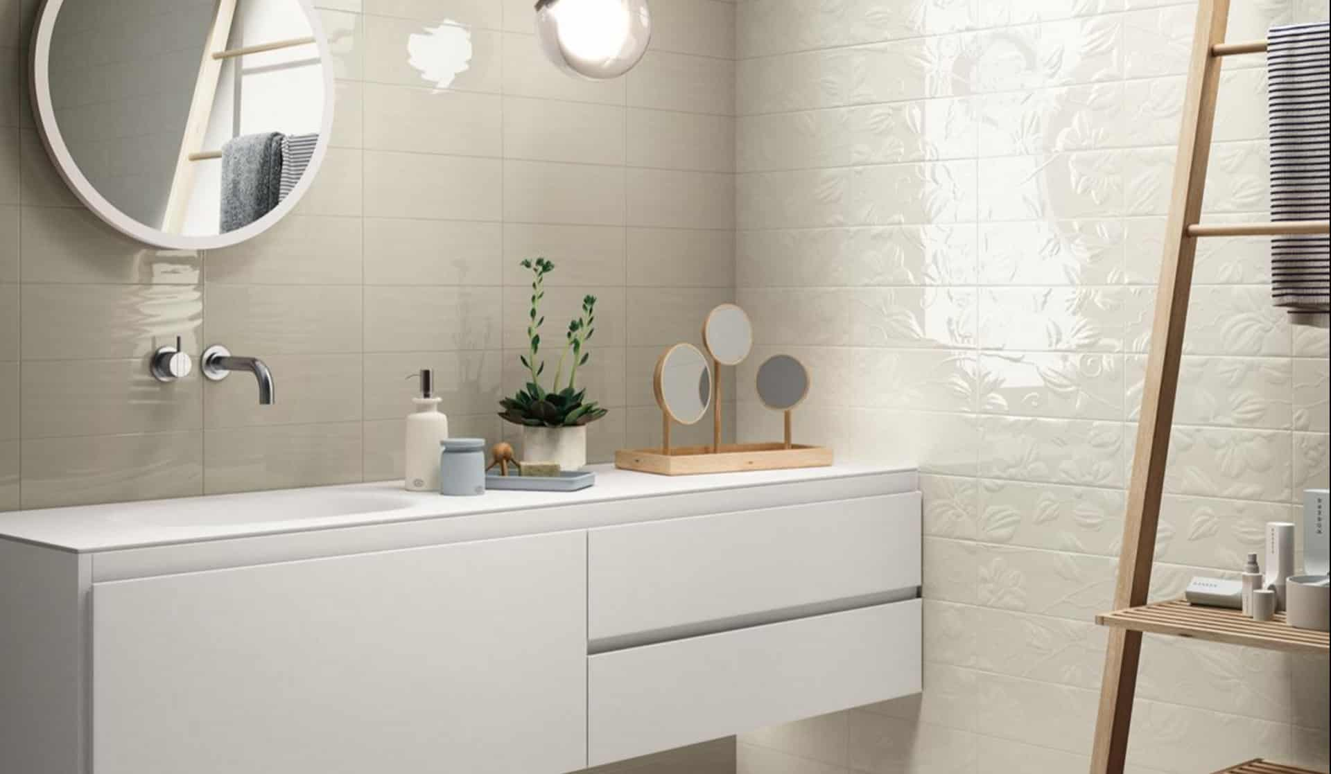 Tile Ideas For Bathroom Walls Il Rivestimento Bagno Opaco E Lucido Wave