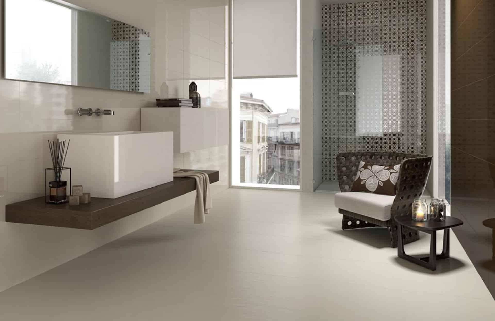 Le piastrelle bagno design di la faenza - Piastrelle pietra bagno ...