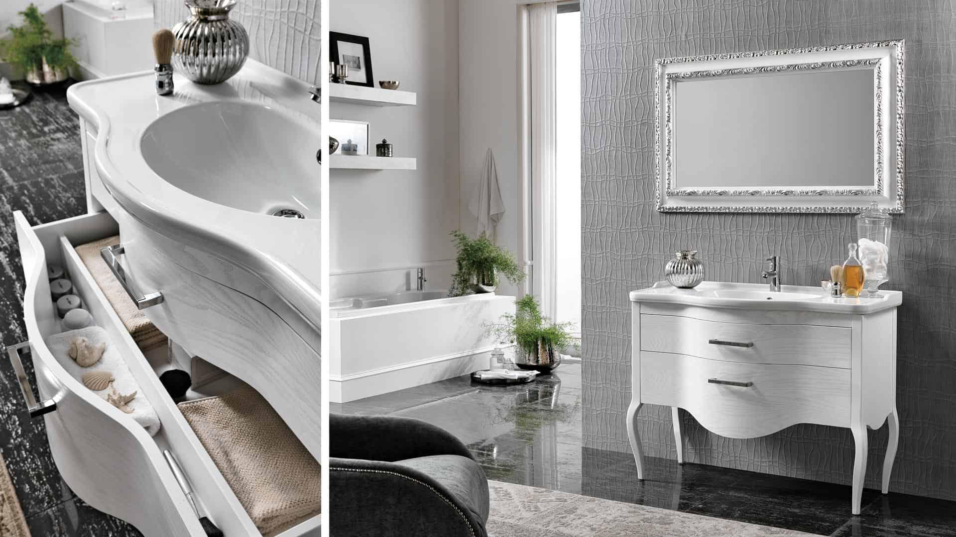 Come scegliere il mobile lavabo a terra sospeso o extra - Mobili bagno stretti ...