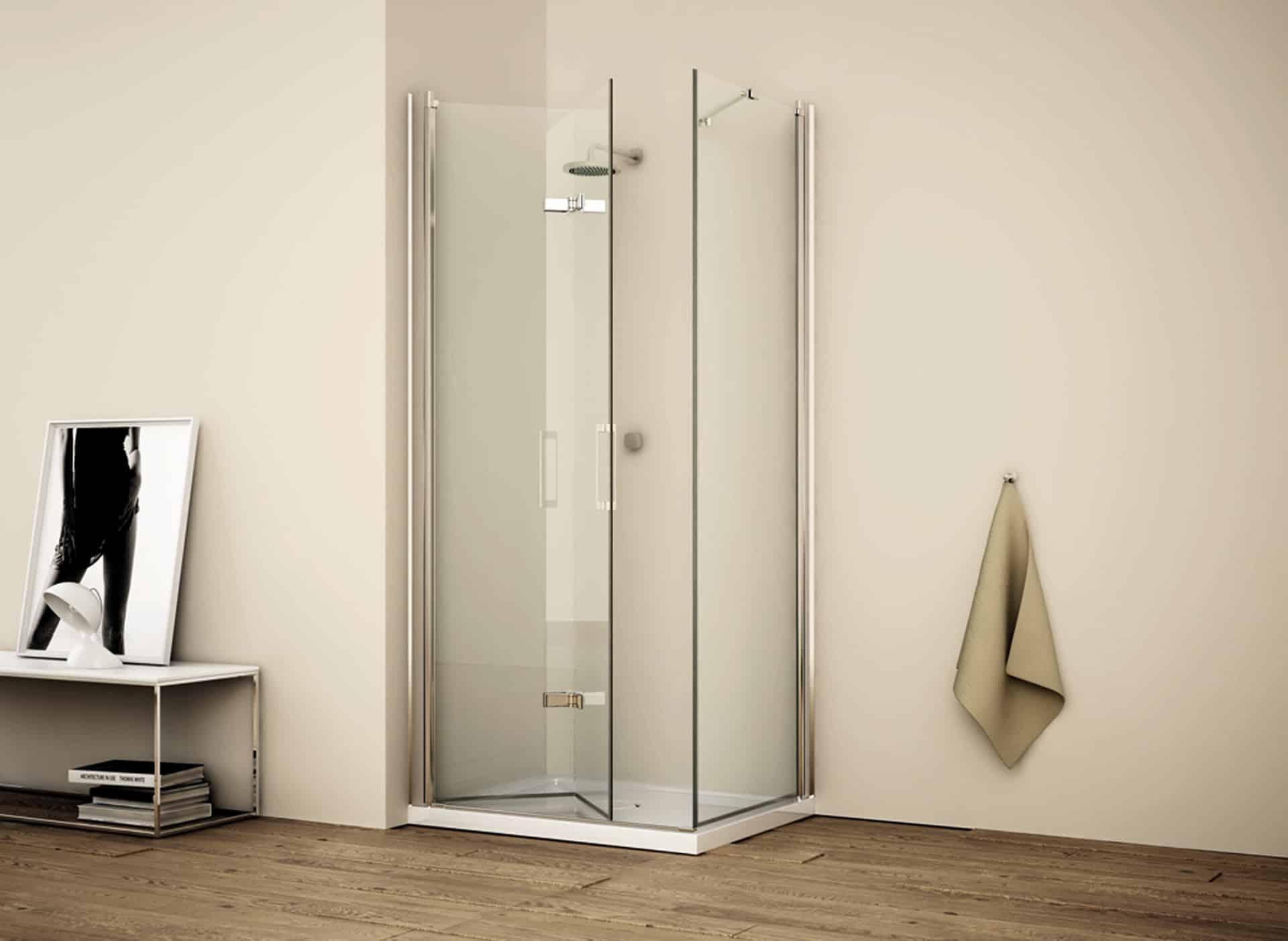Rainbox box doccia orsolini for Porta a libro bianca con vetro