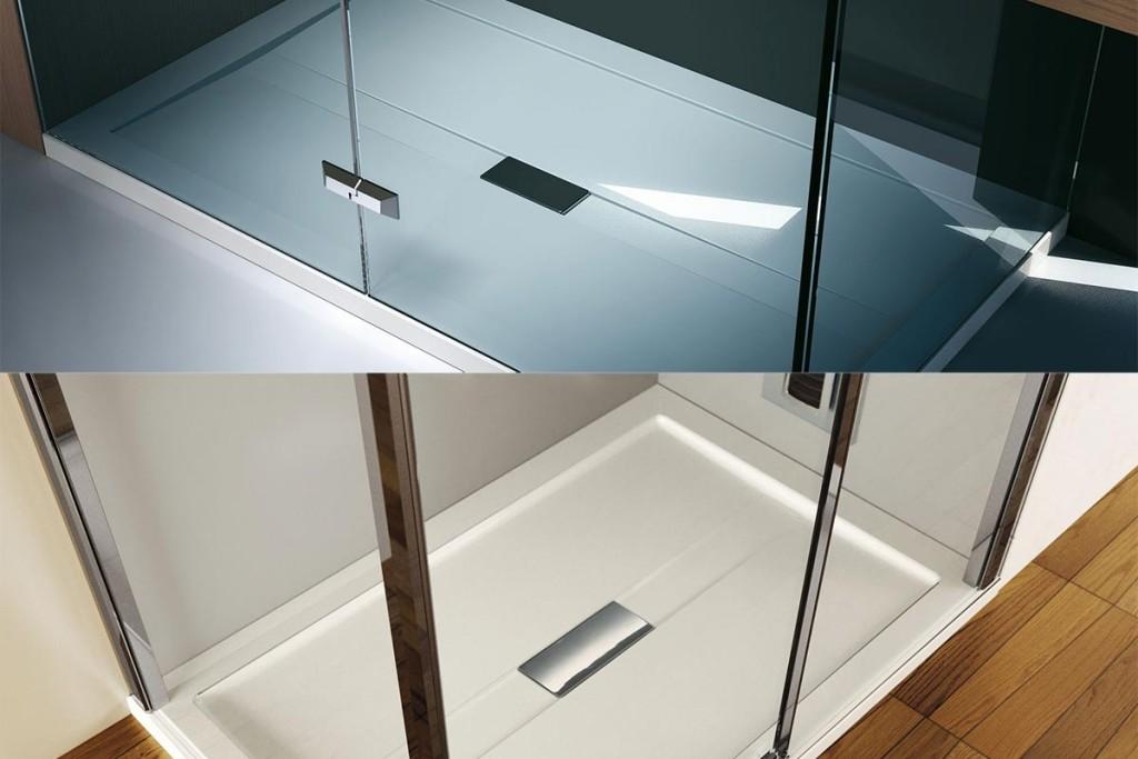 Arredo bagno idee per farlo sembrare pi grande orsolini - Siliconare box doccia interno o esterno ...