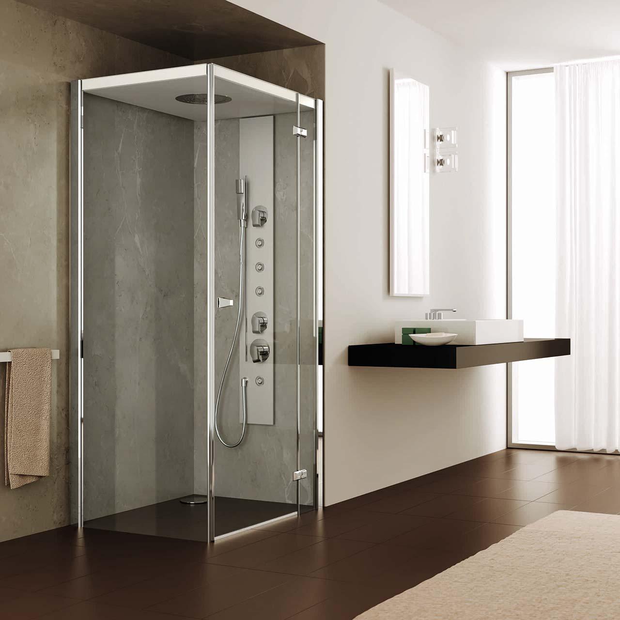 Box doccia idromassaggio una spa in casa orsolini - Bagno di vapore benefici ...