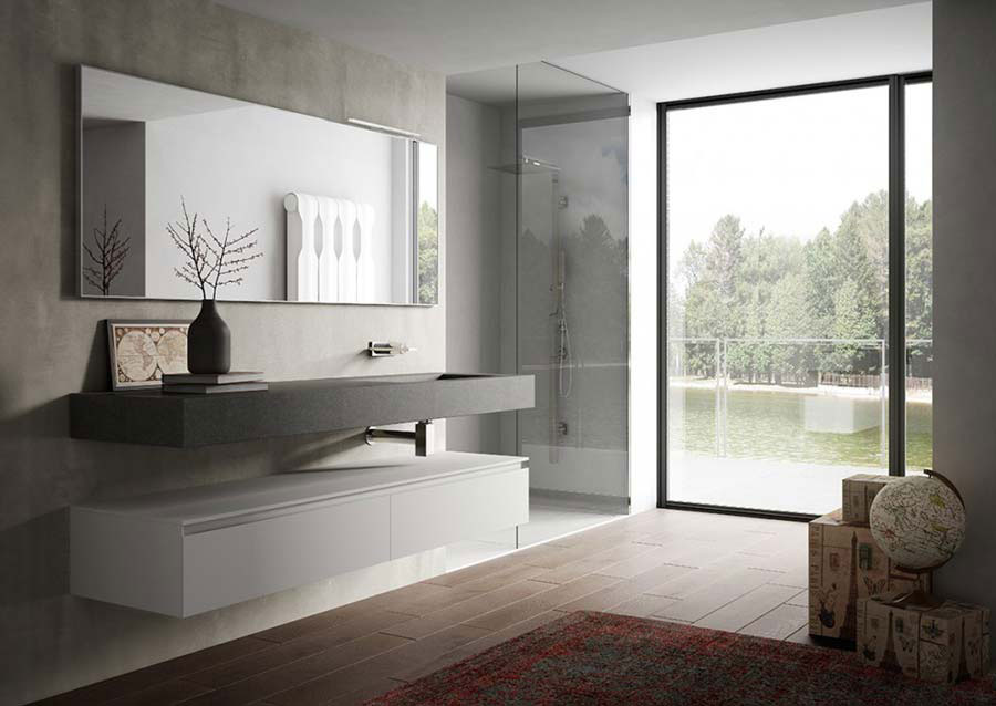 Cubik il mobile bagno innovativo e di design for Mobili di designer