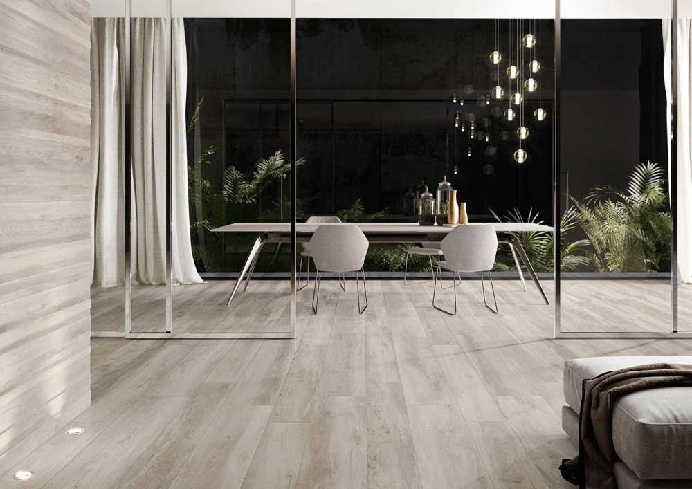 Pavimenti effetto legno per interni. interesting le tavole noce x