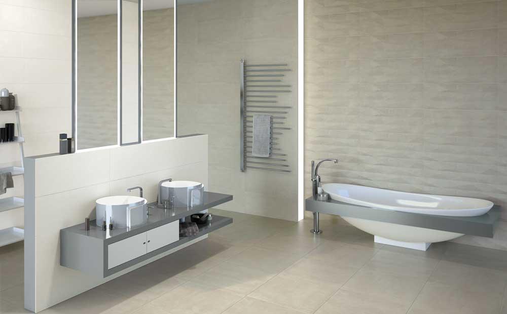 Con surface il rivestimento bagno diventa un gioco di - Mattonelle per doccia ...