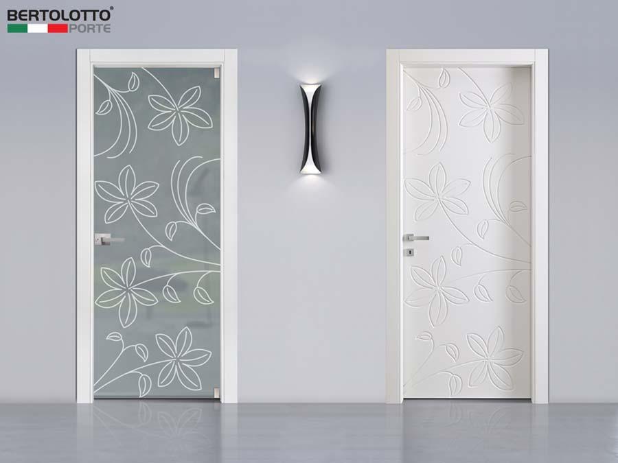 Natura, le porte ispirate da piante e fiori di Bertolotto