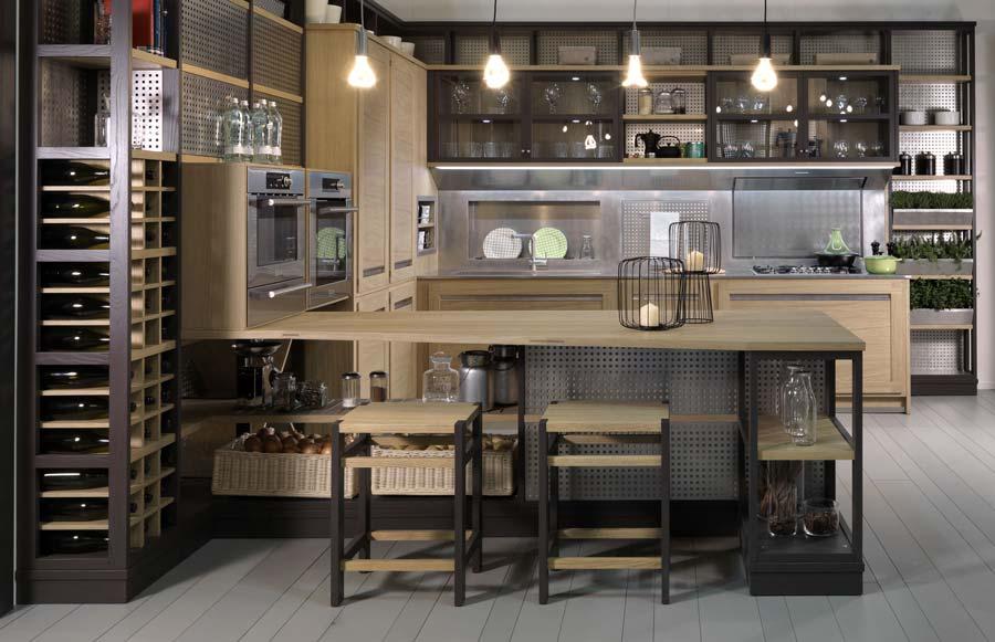 Cucina classica Roveretto, la nuovissima cucina dalle linee leggere