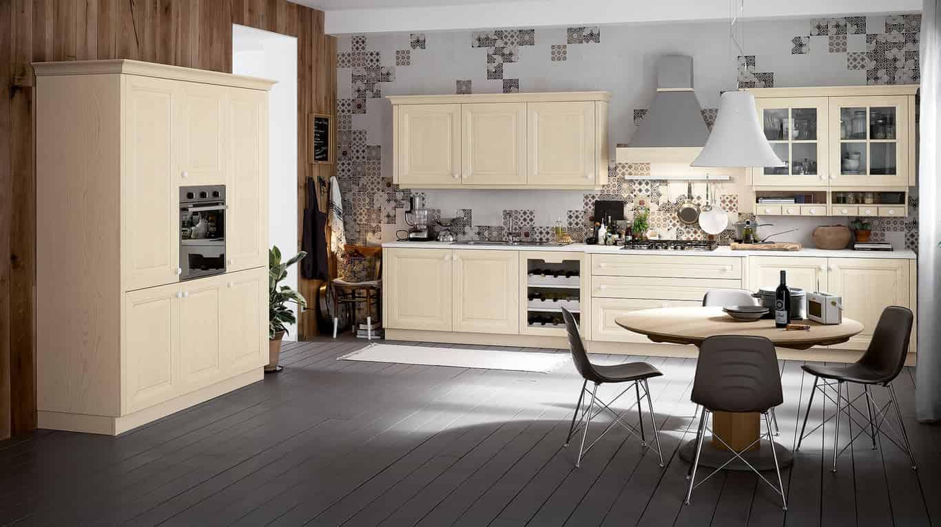 Forme essenziali e varietà cromatica per la cucina Carrera di ...