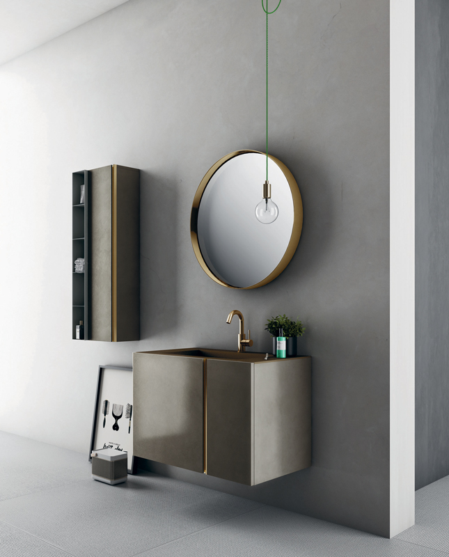 Diva il mobile bagno raffinato e elegante for Specchio tondo bagno