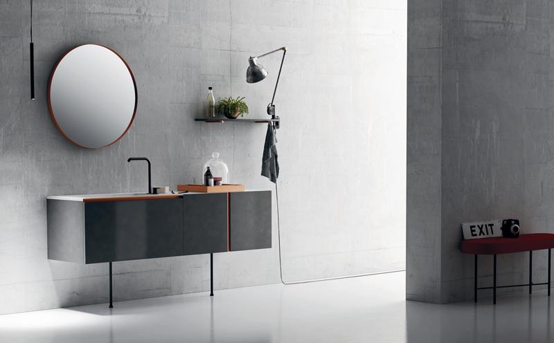 Diva il mobile bagno raffinato e elegante - Mobili bagno con piedini ...