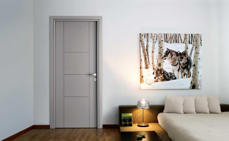 Forte la porta laccata moderna di dierre - Porte interne contemporanee ...