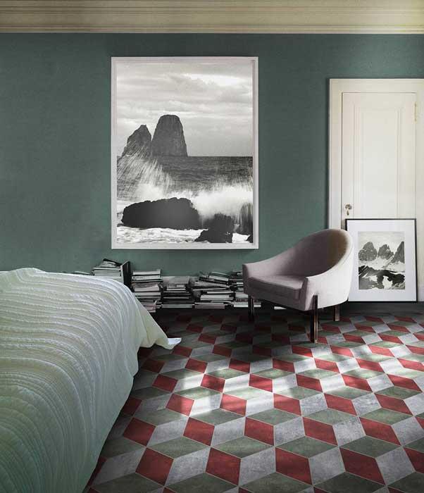 Playone il pavimento dai tanti formati e colori - Decori per pavimenti ...