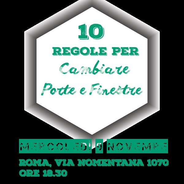 10 regole per cambiare porte e finestre novembre 2016