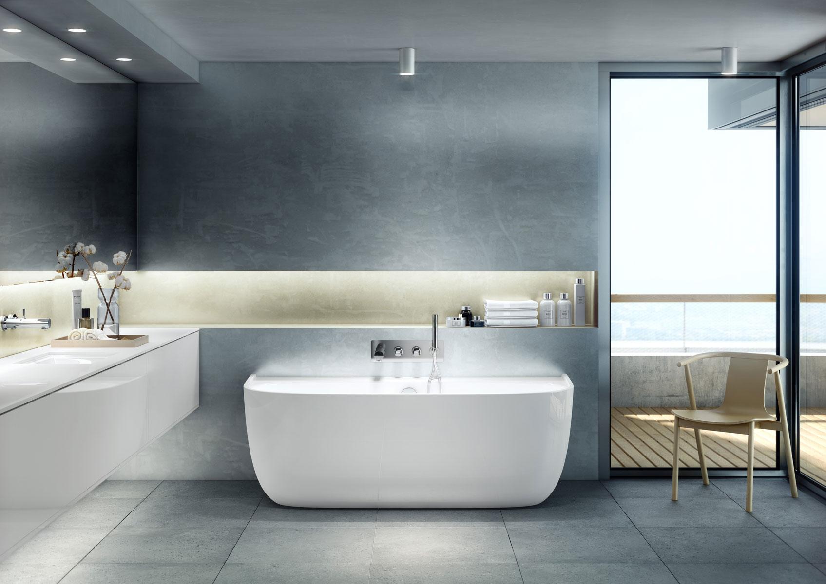 Rivestimento Vasca Da Bagno Roma : Eldon la vasca da bagno elegante e contemporanea