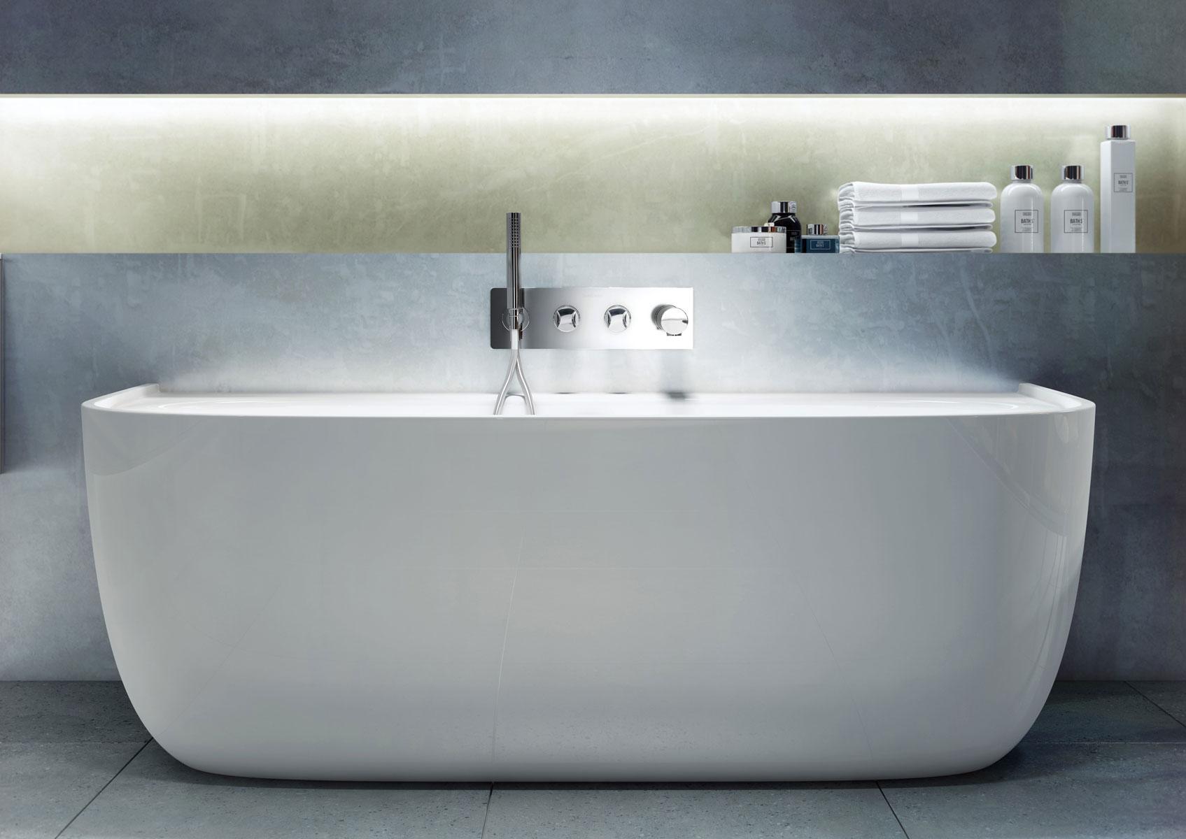 Eldon, la vasca da bagno elegante e contemporanea